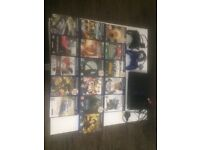 Playstation 2 (faulty) 2 controller + 16 games