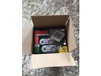 Mini snes super nintendo brand new boxed