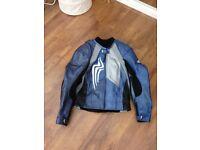 Hein Gericke Hard Edge Racing Leather Two Piece Suit