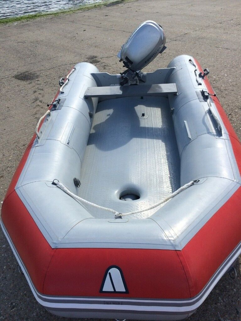 Inflatable Boat for Sale RIB /Fishing/Diving/ Rescue - Hypalon! - 340 cm  long, Boat only | in Grays, Essex | Gumtree