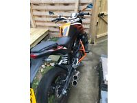 Ktm duke 125cc ixii exhaust. Good runner in perfect condition. Selling as I needed a car.