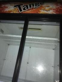 Double tango display fridge