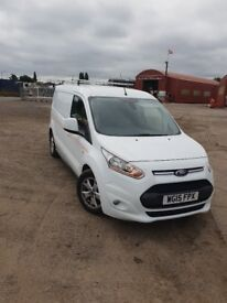 Ford Transit Connect LWB, 3 seats, 6 speed, Rear parking sensors, DAB radio, heated driver seat.