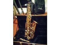 Alto Saxophone & Selmer Mouth Piece for Sale