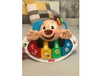 Fisher price laugh and learn puppy piano