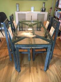 Alfrank designer table and chairs