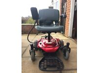 Red Adult Power Wheelchair