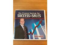 Ron White's The Proven System for Success in Sales 8 CD set