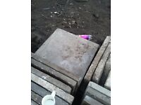 2 x 2 Concrete paving slabs