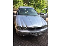 Jaguar X-Type saloon silver, full leather interior. Very comfy stylish car, runs well
