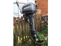 Mariner Six Outboard Motor 6hp Two Stroke With Fuel Tank