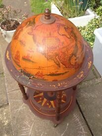 Drinks globe..excellent condition..bargin at £45