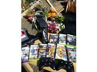 Xbox 360 250GB Bundle with Kinect Sensor and 8 games