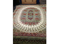 PRICE LOWERED Beautiful Textile/Bed Spread/Ethnic/Table Cover/Tablecloth
