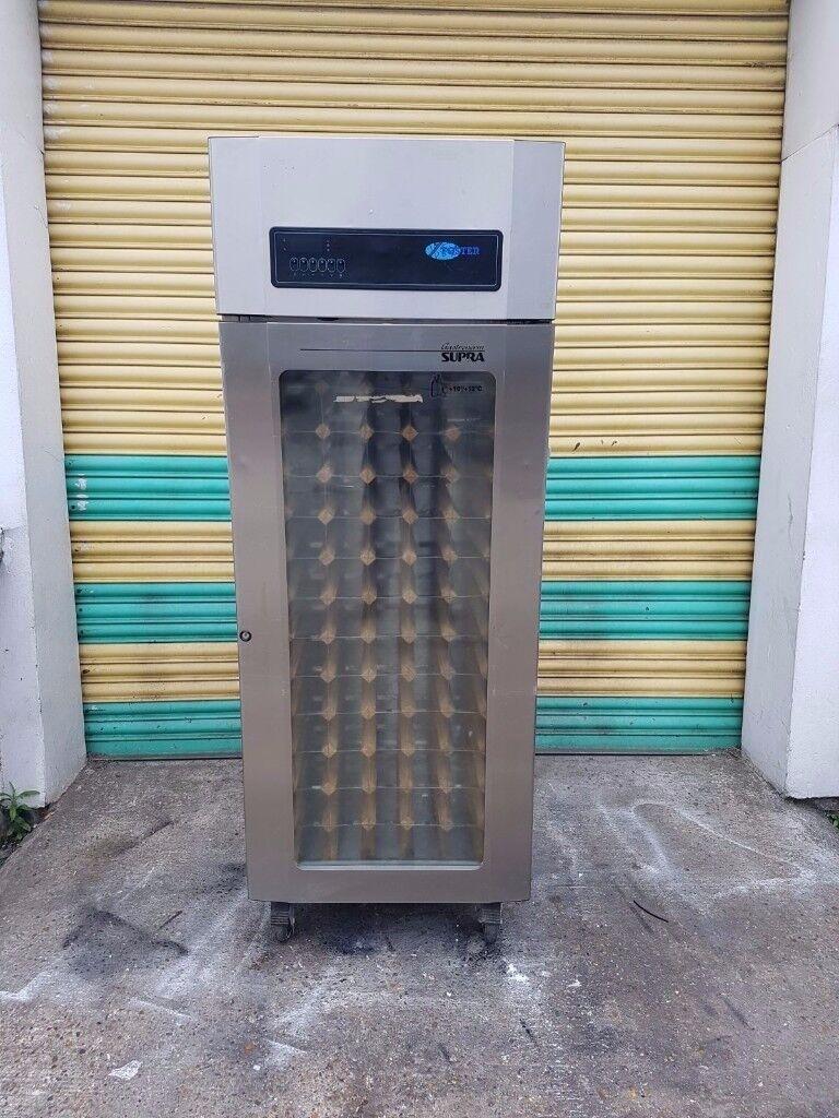 Commercial foster supra upright single door wine fridge wine cooler glass door