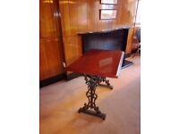 Cast iron tables, ex function suite