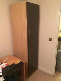 I lovely wooden effect wardrobe