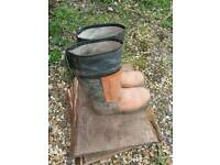 Cat 3 waterproof chainsaw boots size 10 uk