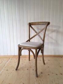 Chamborde Cross Back Chairs
