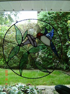 Stained glass Hummingbird ring Kingston Kingston Area image 1