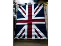 Immaculate Union Jack rug, never used