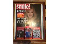 Signed Fearne Cotton Smile Magazine