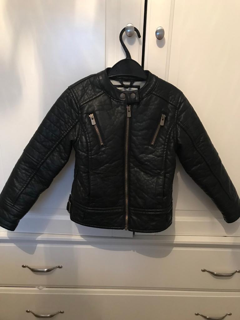 Girls biker jacket 6-7 years old