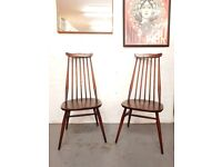 2 x Ercol Goldsmith Vintage Chairs