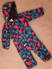M&S dinosaur snowsuit size 2-3 years
