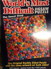 Worlds Most Difficult Jigsaw Puzzle
