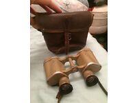 WWII German CAG marked Tan 6x30 dienstglas Army Binoculars