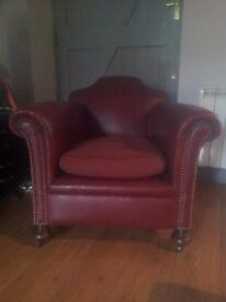 Antique French Moustache Back Armchair