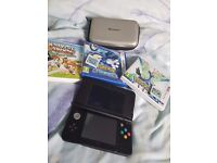 NEW nintendo 3ds for sale. Had 2 weeks with 3 games!