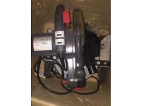REDEYE 210 compound mitre saw with laser line generator