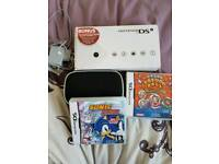 Nintendo dsi boxed with 2 games