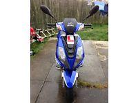 125 moped £850 ono