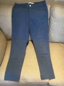 BRAND NEW Republic White Label 32Wx30L Blue chinos