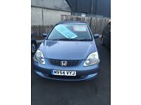 HONDA CIVIC SE CTDI 1686cc 12 MONTHS MOT, FULL SERVICE HISTORY EXCELLENT CONDITION