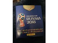 Panini Russia world cup 2018 stickers