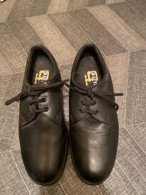 Crafters Steel toe cap work shoes men's 7