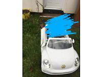 kids Volkswagen electric car