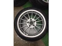 "18"" Alloy Wheels BMW VW T5 Transporter"