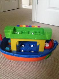 Musical Noah's ask pre school toy