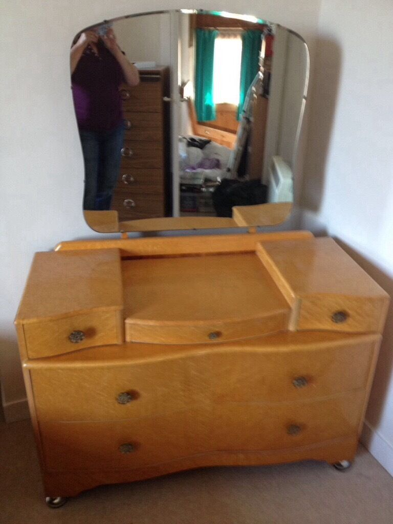 bedroom furniture vintage 1950s in tranent east lothian