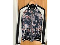 Men's ASOS Floral Bomber Jacket (S)