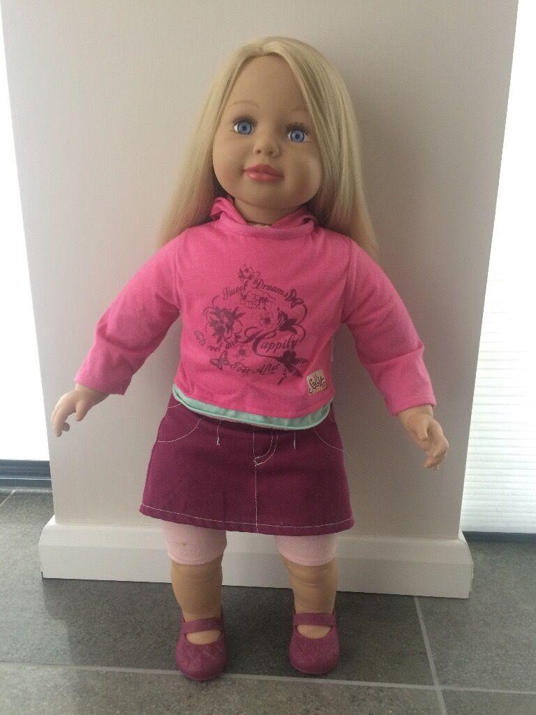 Sally Doll Zapf Creation Vgc 63cm Tall Original Clothes