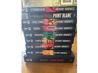 9 Alex Rider books