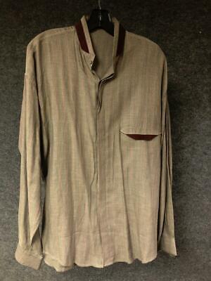 Vintage Retro 80's Gianni Versace Long Sleeve Shirt sz Medium