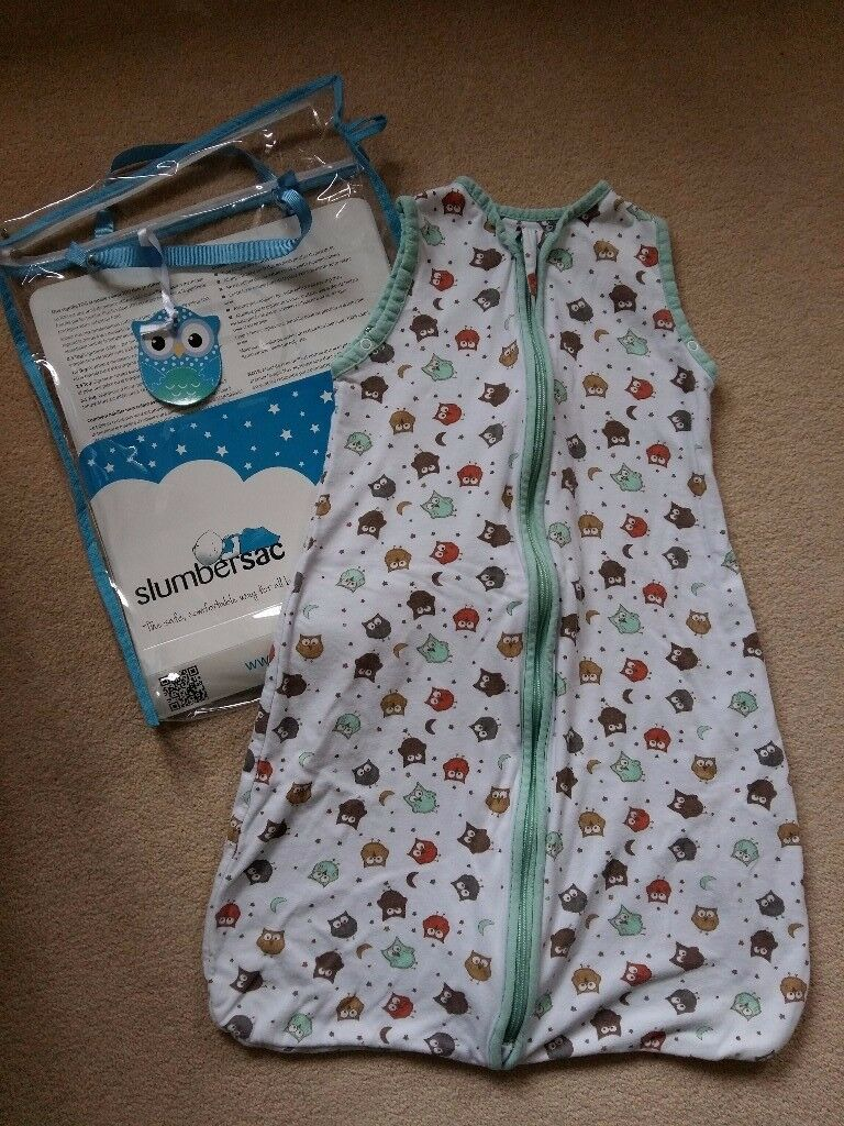 Slumbersac 'Owls' baby sleeping bag 0.5 tog 0-6 months