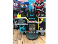 Imaginext power rangers and batman